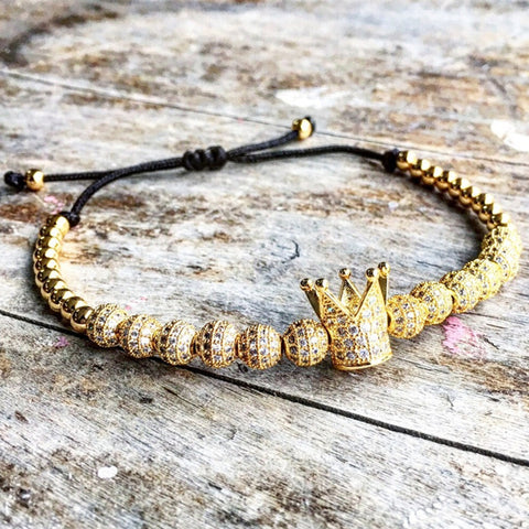 Golden King Bracelet, Alphalifestyle.shop - Alphalifestyle.shop