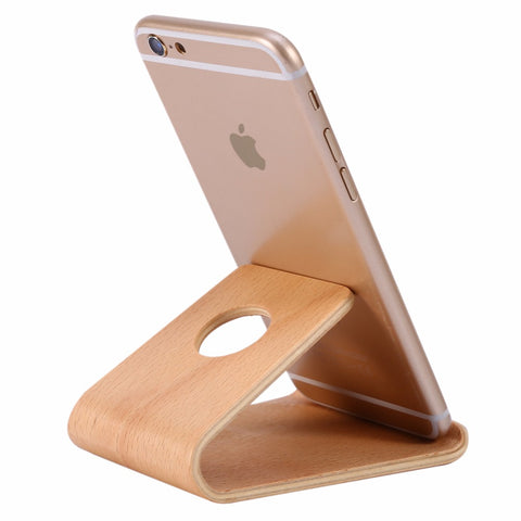 Universal Bamboo Mobile Phone Holder, Alphalifestyle.shop - Alphalifestyle.shop