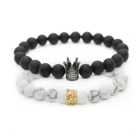 King & Queen Bracelets, Alphalifestyle.shop - Alphalifestyle.shop