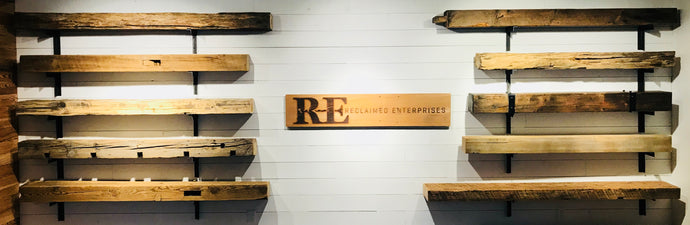 Reclaimed Wood Mantels