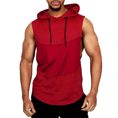 Regular Fit Hooded Tank