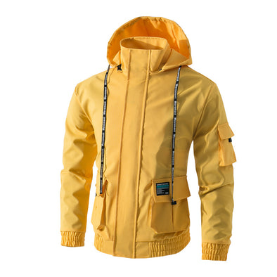 Functional Hooded Coat