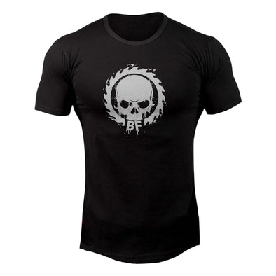 Skull And Saw T-Shirt