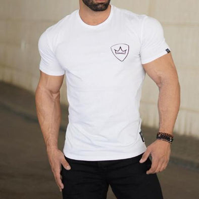 Nova White Gym T-Shirt