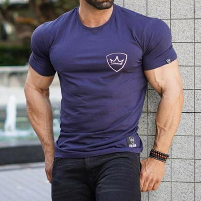 Nova Blue Gym T-Shirt