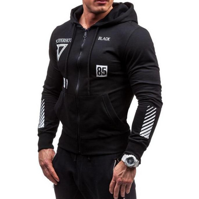 Muscle Factor Zip Up Hoodie