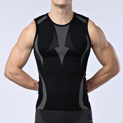 Jogging Sleeveless Compression Tank