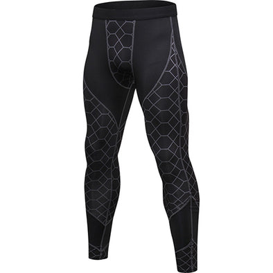 Patterned Gym Pants