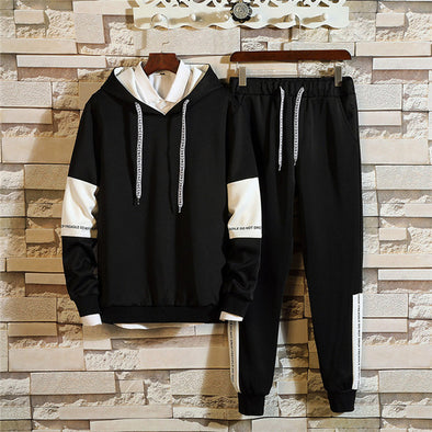 Fashion Hooded Tracksuit