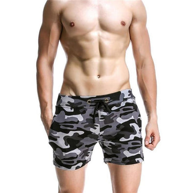 Colorful Camouflage Shorts