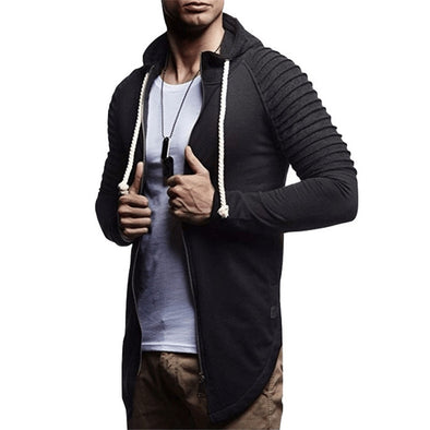 Comfortable Fitness Zip Up Hoodie