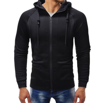 Basic Fitness Zip Up Hoodie