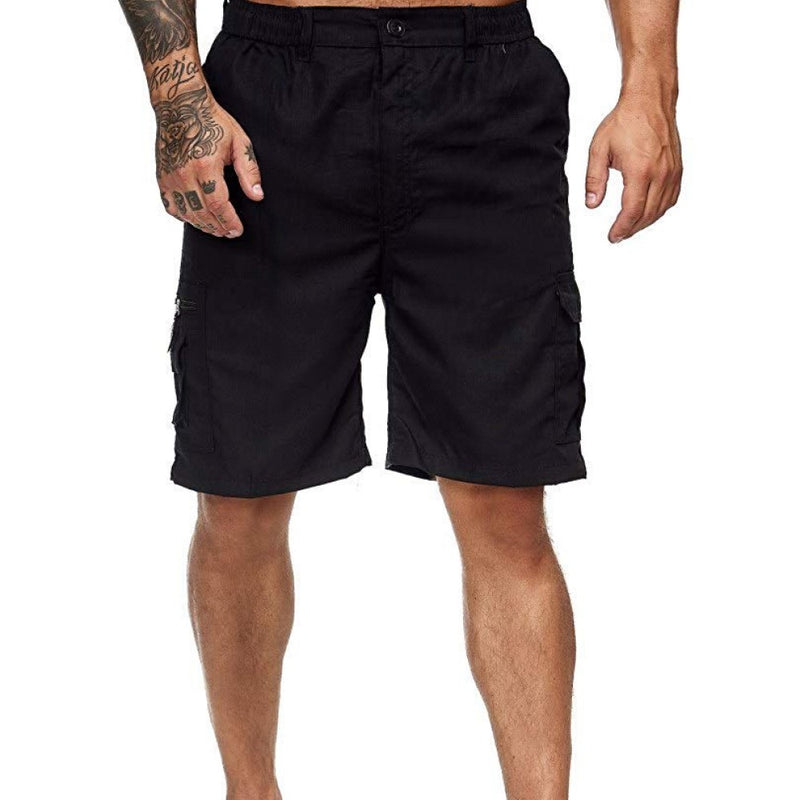 Loose Fit Multi-Pocket Shorts