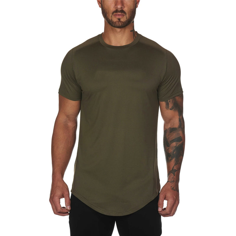 Slim Fit Gym T-Shirt