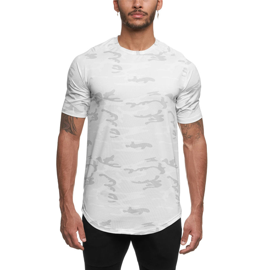 Camouflage Gym T-Shirt