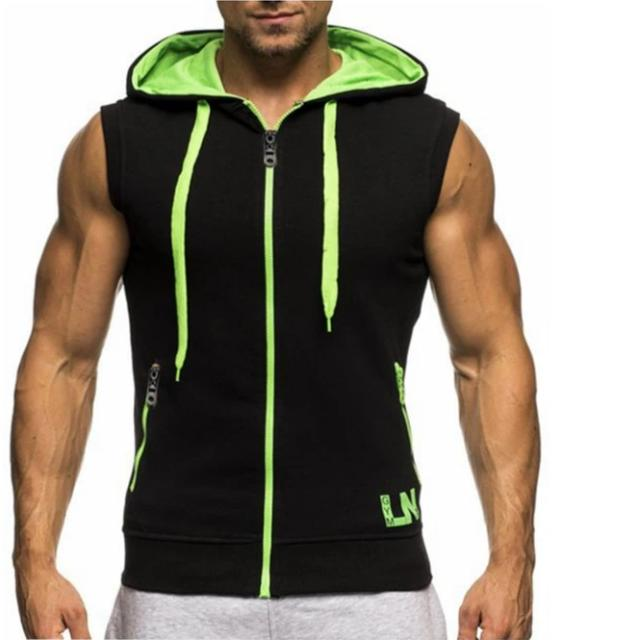 Power Gym Hooded Tank