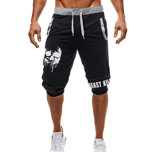 Dripping Skull Shorts
