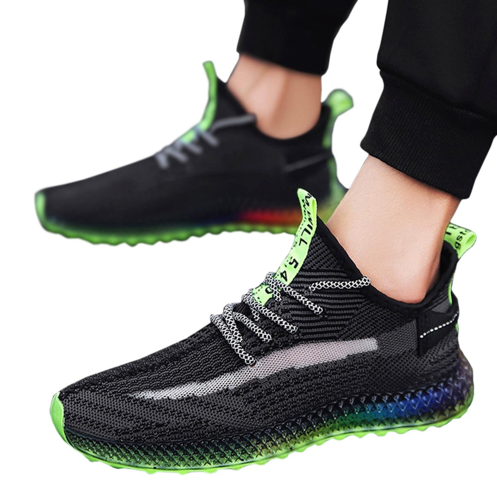 Lace-Up Running Shoes
