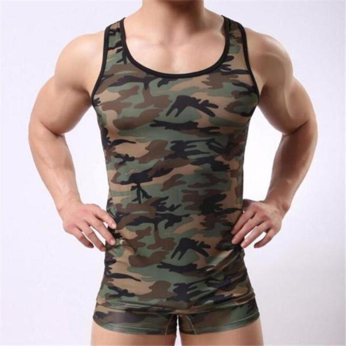 Camouflage Fitness Tank