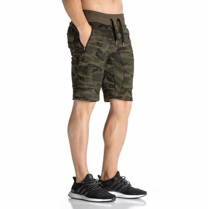 Camouflage Training Shorts