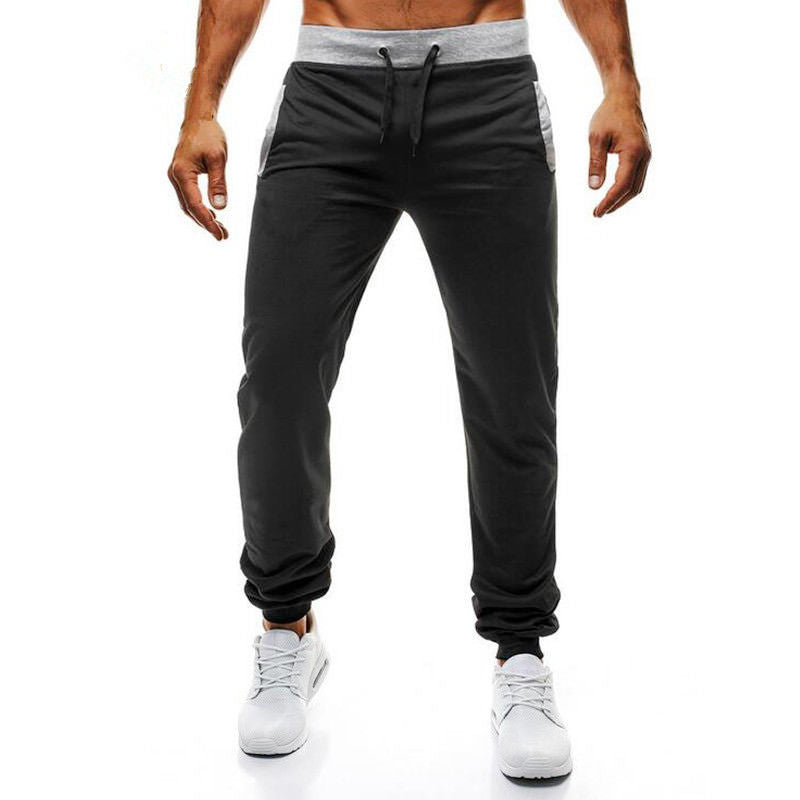 Regular Elastic Pants