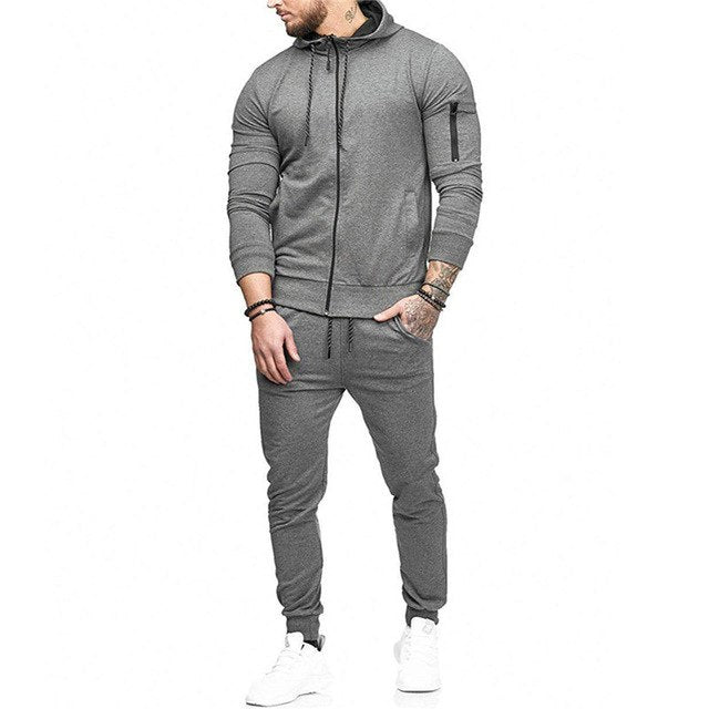 Simple Style Tracksuit