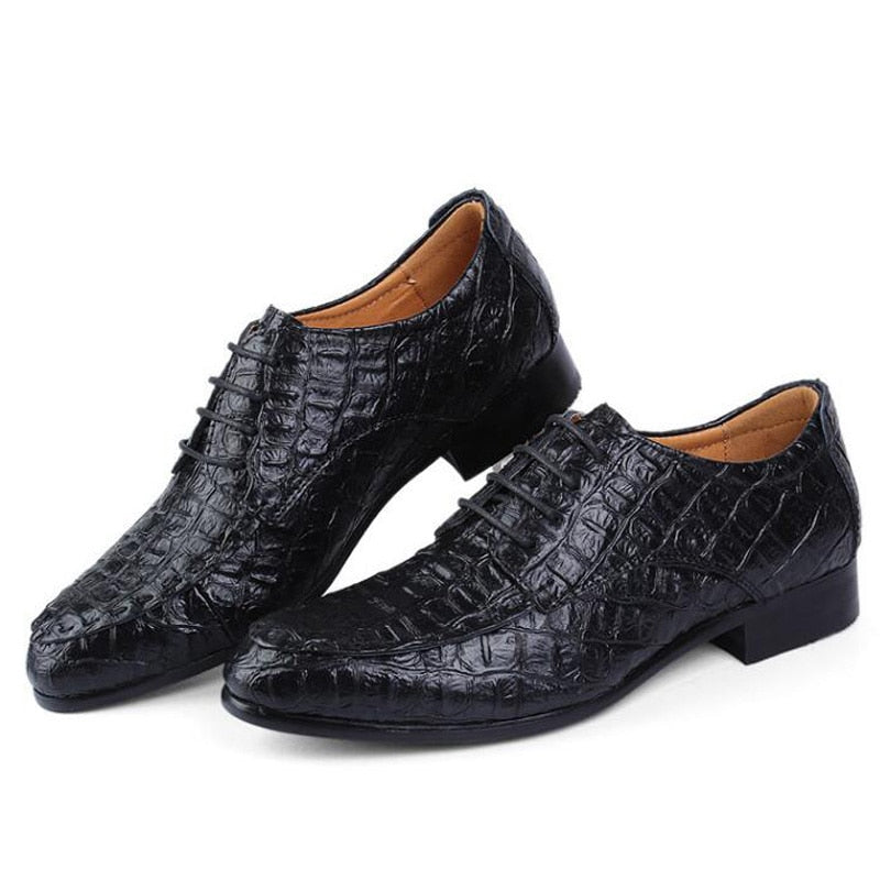 Crocodile Pattern Shoes