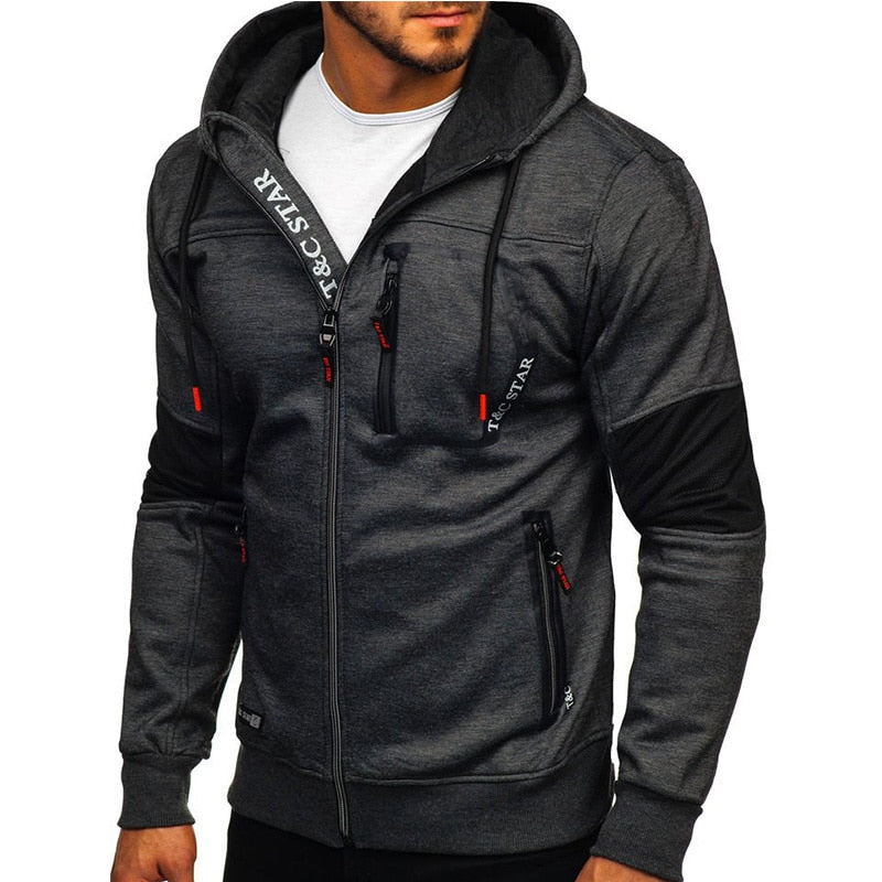 Dynamic Zip Up Hoodie