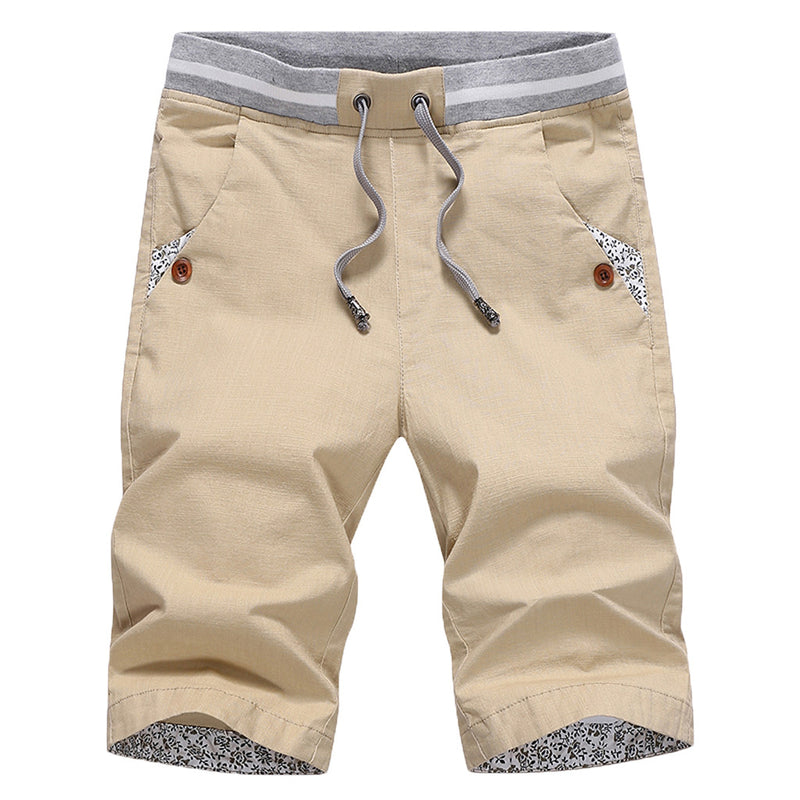 Knee-Length Leisure Shorts