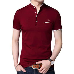 Giovoss Embroidered Polo Shirt