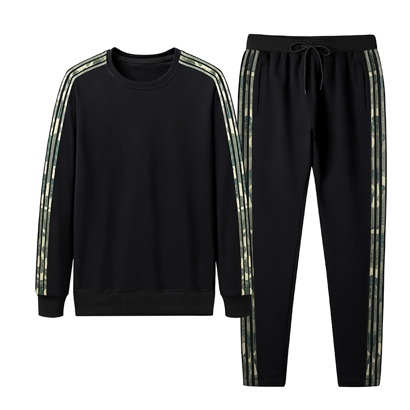 Sporty Running Tracksuit Set
