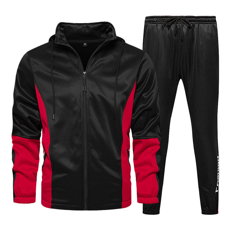 Hooded Tracksuit Set
