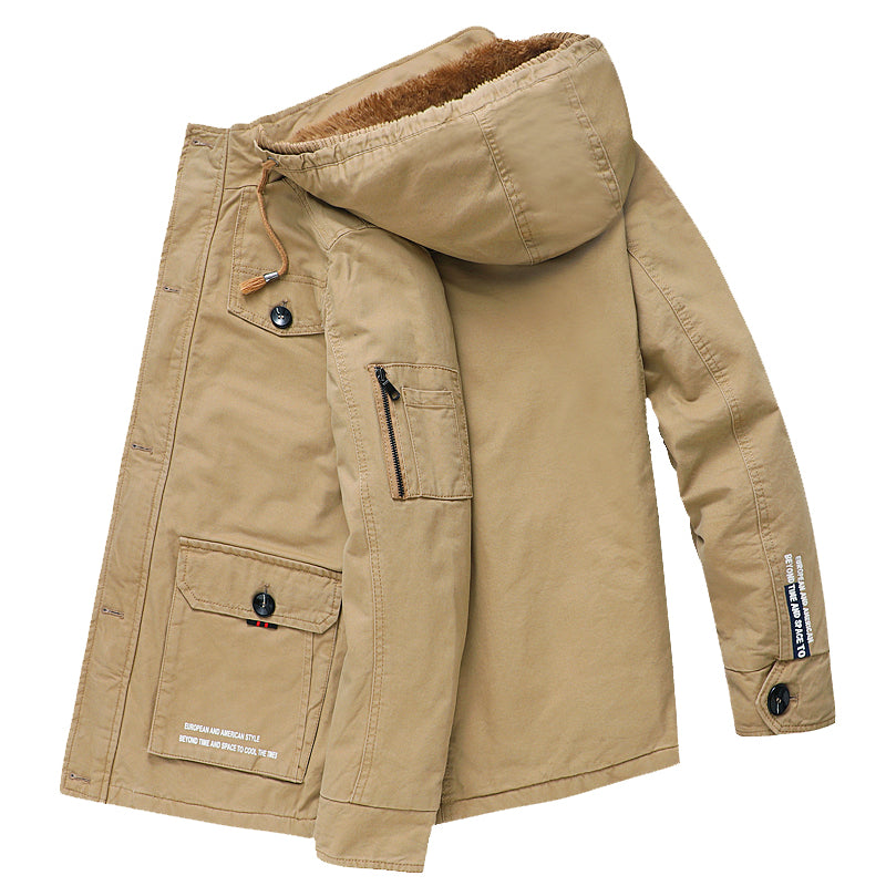 Multi Pockets Thick Jacket