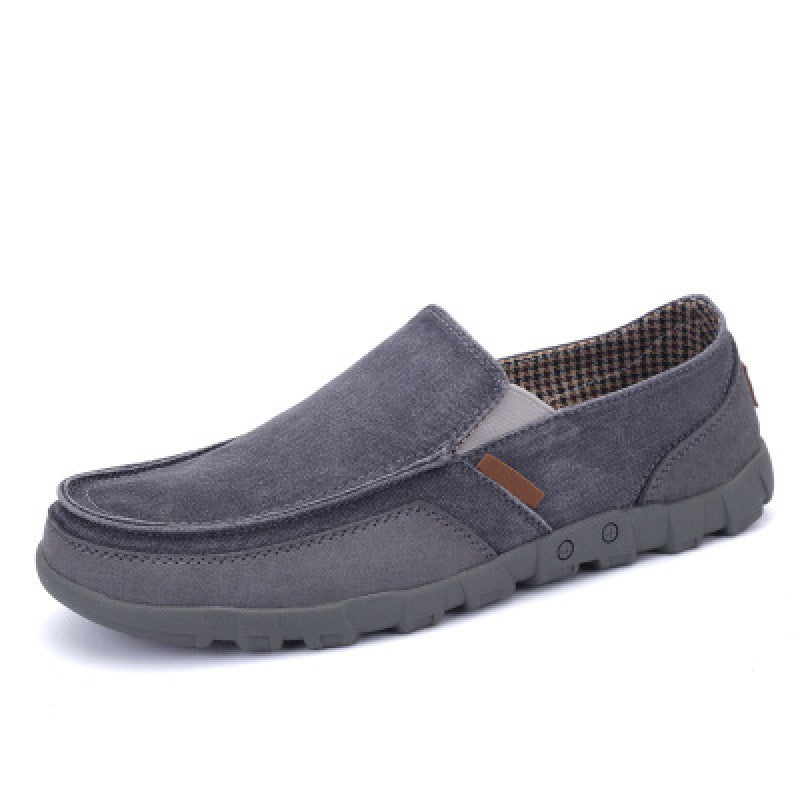 Slip-On Leather Shoes