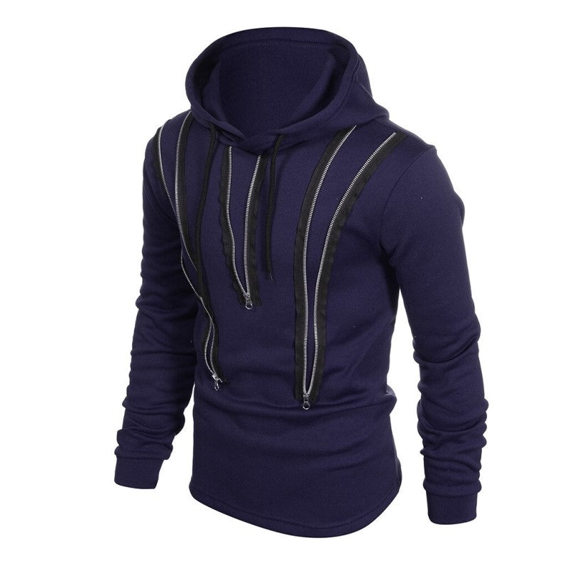 Zipping Detailed Hoodie