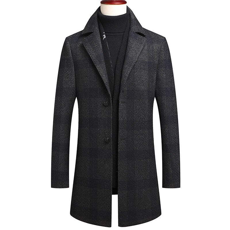Slim Fit Thick Coat