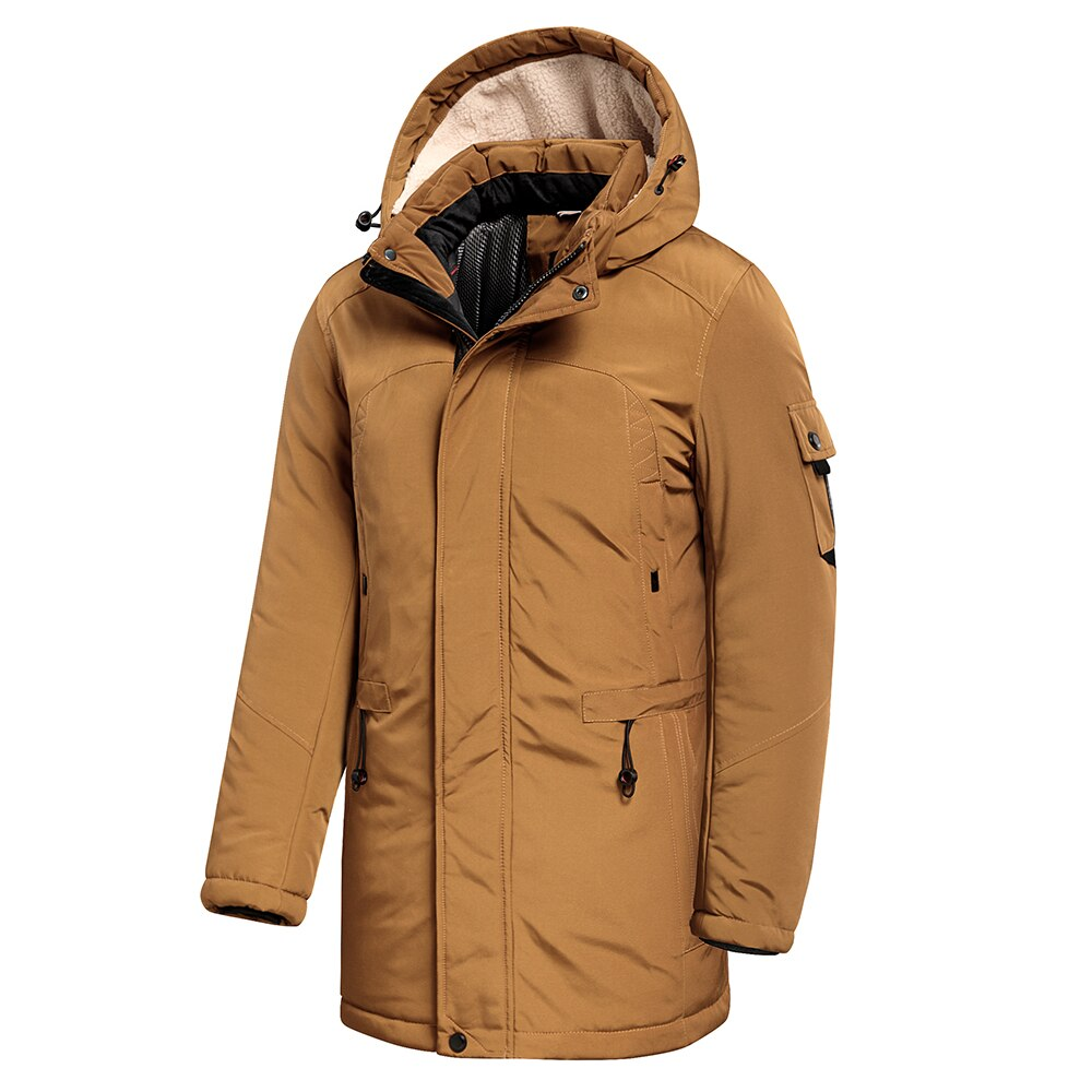 Casual Fleece Hooded Coat