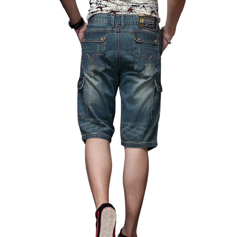 Outdoor Knee-Length Jeans