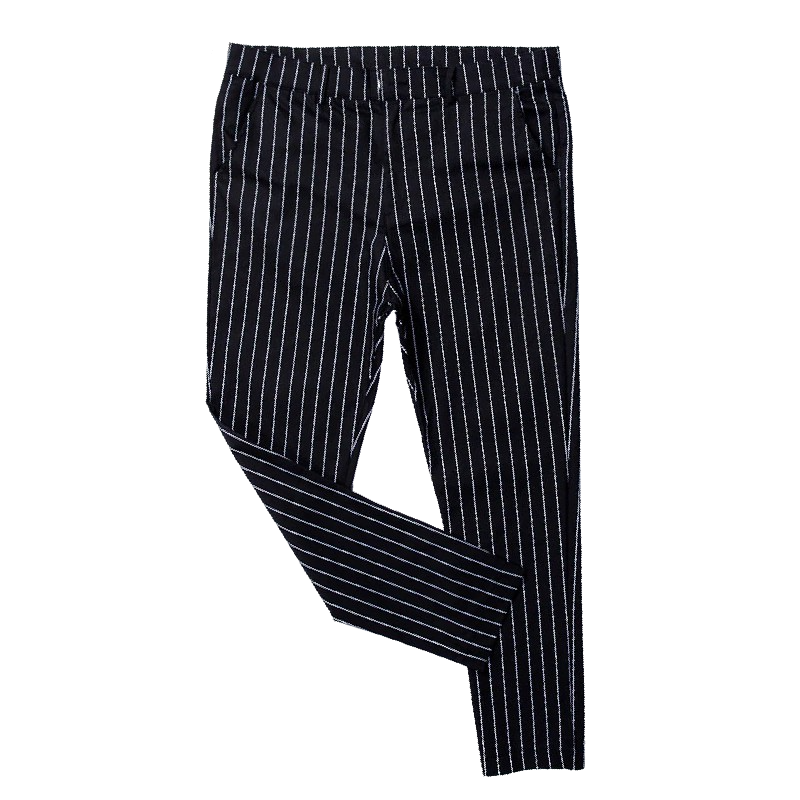 Skinny Striped Formal Pants