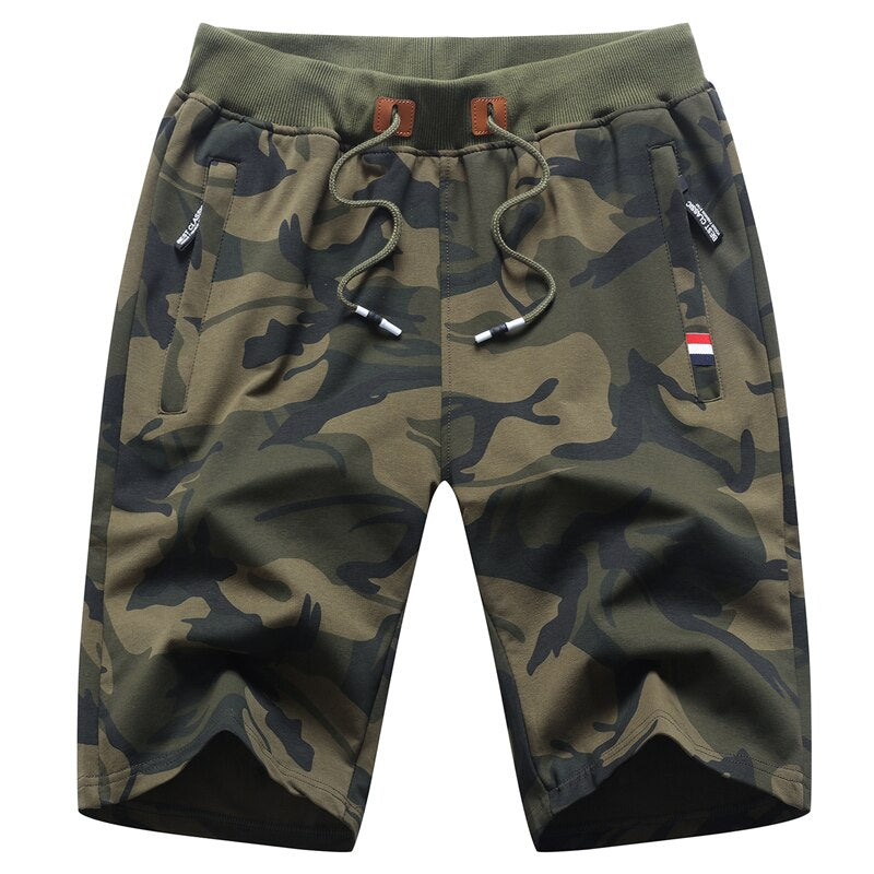 Camouflage Leisure Shorts