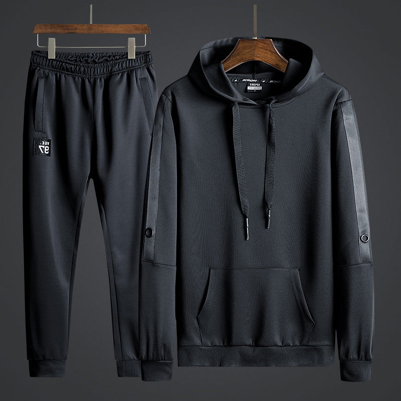 Hooded Runner Tracksuit Set