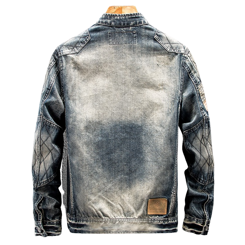 Light Washed Denim Jacket
