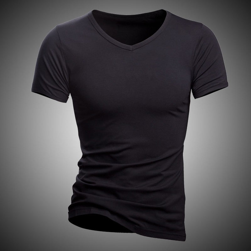 Black and White Casual T-Shirt