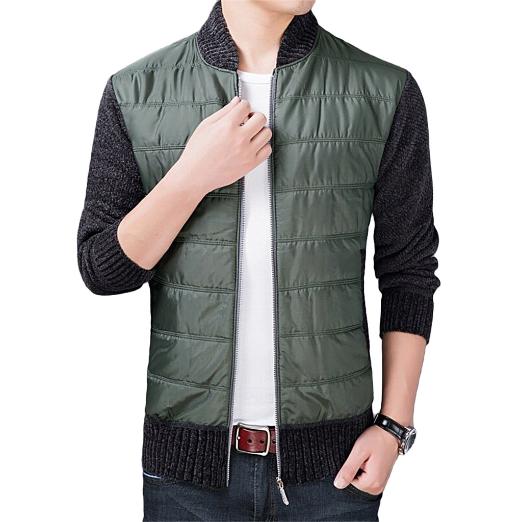Casual Mandarin Collar Jacket
