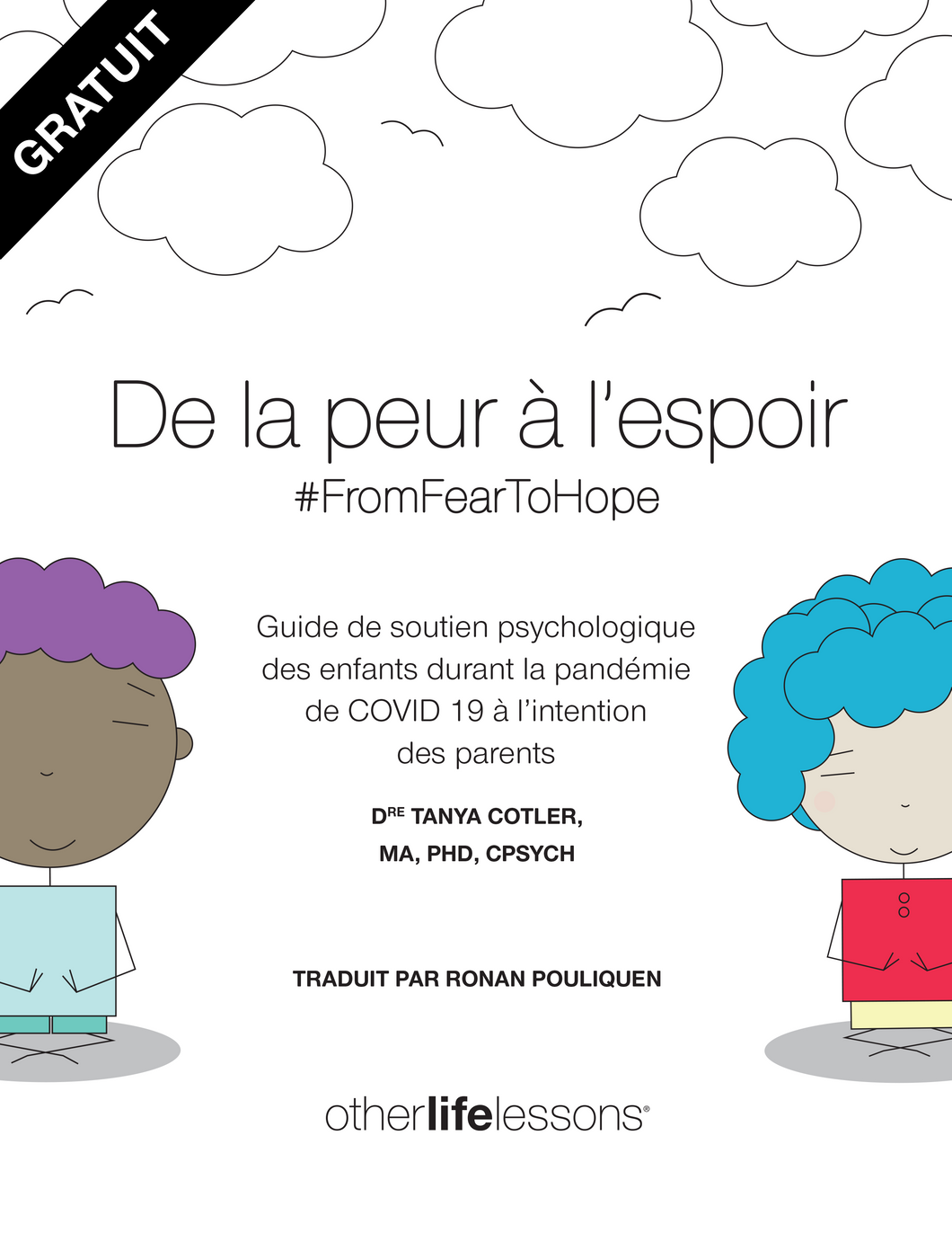 #FromFearToHope COVID-19 Workbook (French version)