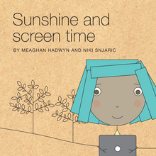 Sunshine and screentime book cover