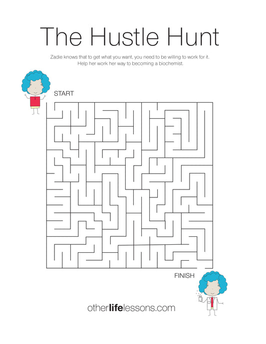 A maze to get from Start to Finish