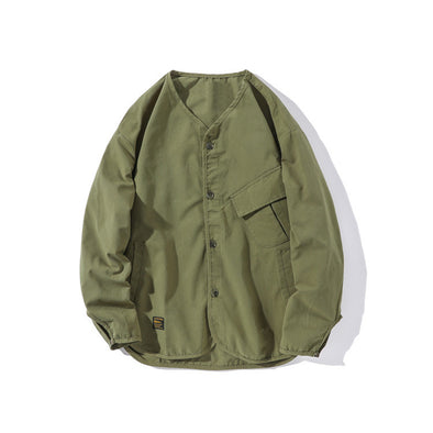 Mills V-Necked Lightweight Jacket