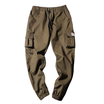 Simple Cuffed Cargo Joggers