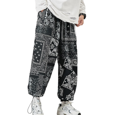 Baggy Patterned Harem Pants